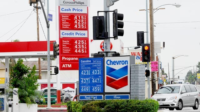 gas prices in May 2012 WV