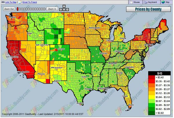 Weekly gasoline outlook - Gasbuddy Gas Prices