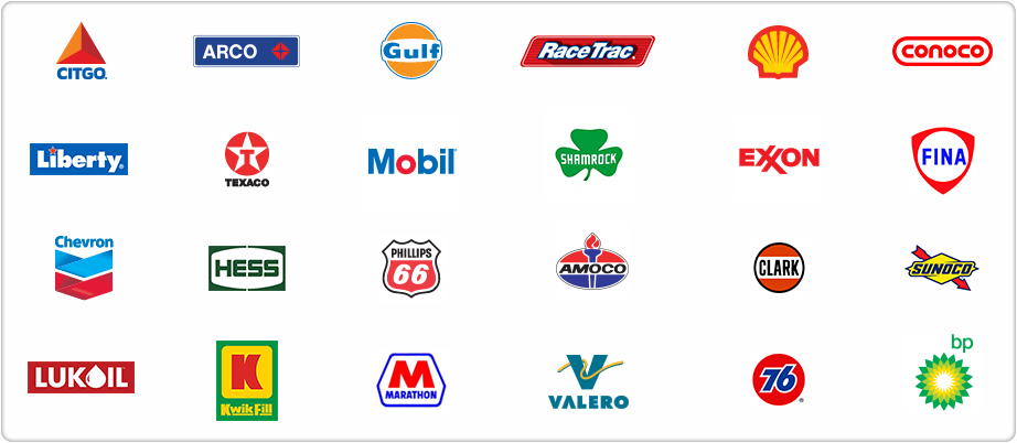 photos of logos for gas stations