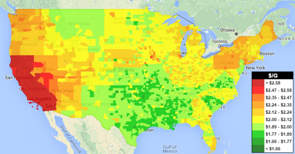 Boston Gas Prices >> Gasoline Prices Up Again Diesel Overtakes As Cheapest Fuel